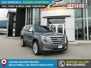 2019 Cadillac Escalade Platinum NAVIGATION - GENUINE WOOD - R...