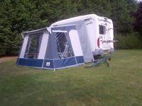 Campervan Awning (Dorema Gebruiksaanwijzin) - like new - for sale