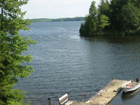 COTTAGE FOR RENT on Beautiful Sharbot Lake - Fall Colours!