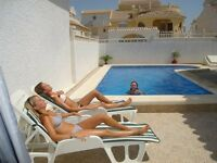 Easter 2018 , 14 nights in a villa with private pool sleeps 6/8 in Murcia Spain