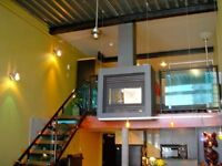 Penthouse 2 level loft in exclusive JIGSAW building. live/work