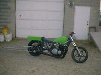 1980 Kawasaki kz dragbike w/ 750 turbo engine