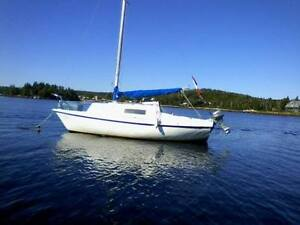 24' Sloop Rig Sailboat  REDUCED was $3000 now $1800 Must Go!!!