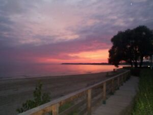 Gorgeous Sunsets at Sherkston Shores Beach
