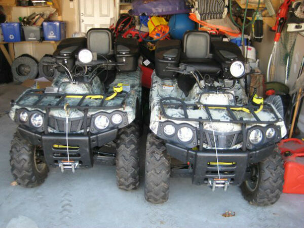 Used 2007 Other Baja Motorsports Wilderness Trail 4x4 400cc ATV