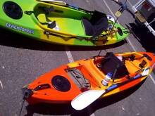 1 x Finn Beachcomber Kayak *** only orange one left now!! *** Fremantle Fremantle Area Preview
