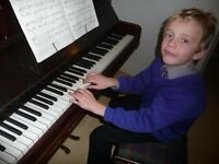 Children's piano tuition - south west London