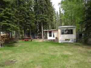 Lake front lot with mobile home