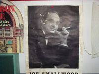 antique Newfoundland Joey Smallwood poster