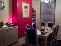 Limed Oak dining furniture