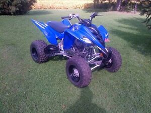 YAMAHA 350 RAPTOR **ONLY 20 HOURS OF USE**