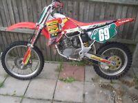 Motorcross bikes (damaged repair )