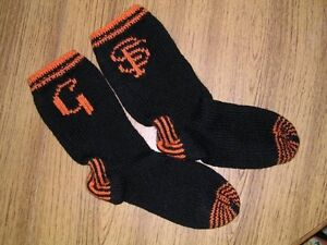 Alex-Lewis-Scholarship-Fund-SF-Giants-Knitted-Socks