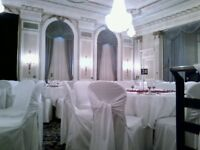 10 White Chair Covers