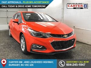 2018 Chevrolet Cruze LT Auto FWD - Heated Front Seats - Rear...