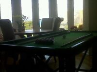 Full size snooker table. Good condition. Collection only. Brixham £80