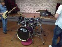 Mapex M Series Birch 7 piece drum kit sparkle purple