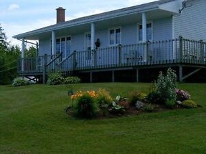 WATERFRONT - BAIE ST.ANNE - GORGEOUS BUNGALOW