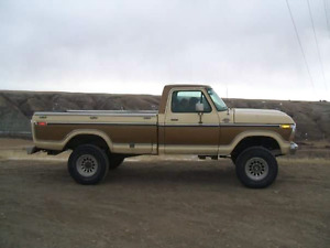 Looking for a 78-79 F 150 250 or 350 4x4. Must be standard