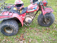 200 HONDA BIG RED 200 ---- WITH PAPERS