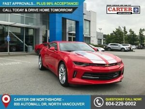 2018 Chevrolet Camaro 1LT POWER SEATS - FOG LIGHTS - ALLOYS -...