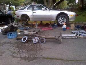 PORSCHE 944 PARTS INT, ENGINE,EXTERIOR, TRANS