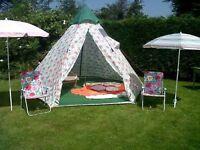 Cath Kidson Tepee tent. Unused. Bargain!!
