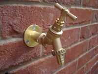Outside tap supplied and fitted £55/ other plumbing services ask