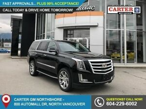 2018 Cadillac Escalade Luxury TRAILER HITCH - ROOF RACK - MOO...