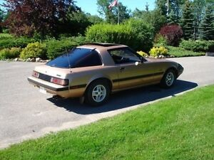 1983 Mazda RX7 Possible trade for 4 wheeler,side by side Peterborough Peterborough Area image 7