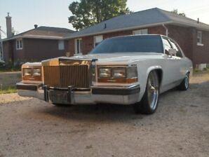 Custom 1989 Cadillac Brougham D'elegance