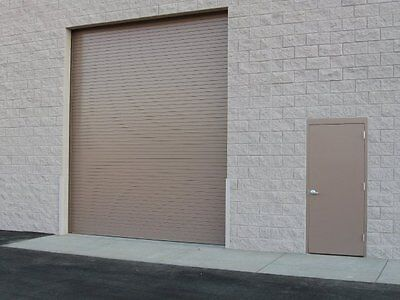 Durosteel Janus 8 Wide By 12 Tall 2000 Series Commercial Roll-up Door Direct