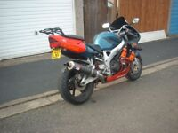 fireblade low mileage v.g.c email for info
