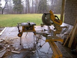 "Dewalt 12"" mitre saw and stand"