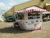 Cotton Candy & soft ice cream concession trailler