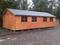 30x15 Wooden shed (Brand New)