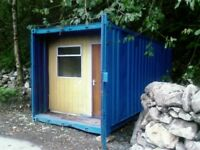 portable office - shipping container 20'x8'