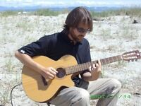 Acoustic guitar player for hire