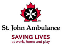 Seats left in First Aid classes with St. John Ambulance - Dec 18
