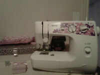 Brother Sewing Machine Almost New, Barely Used Make An Offer