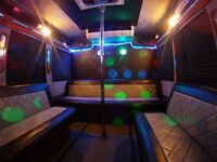 LIMO LIMOUSINE LIMOBUS PARTY BUS CHARTER VAN WEDDING PROM