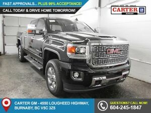 2018 GMC Sierra 3500HD Denali 4x4 - Navigation - Heated Power...