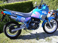 Ultra low mileage 1992 SUZUKI DR650RS ALL ORIGINAL,INCLUDING PIPS ON TYRES