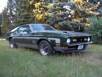 1971 MUSTANG MACH 1 only 25000 miles UNRESTORED