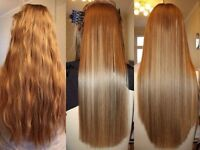 Keratin Hair Straightening - Silky, healthy hair for up to 6 months! 100% Satisfaction