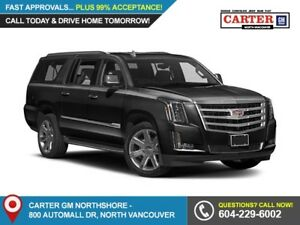 2018 Cadillac Escalade ESV NAVIGATION - LEATHER - TRAILERING...