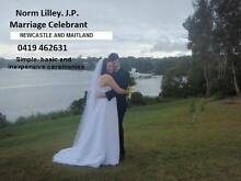 Marriage Celebrant - Maitland, Cessnock and Newcastle areas Rutherford Maitland Area Preview