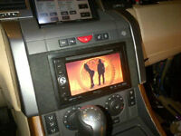 CAR AUDIO-STEREO INSTALLATION-DOUBLE DIN-AMPS & SUB