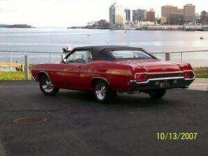SOLD!!!! 70 FORD XL CONVERTIBLE
