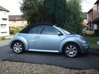 VW BEETLE CONVERTIBLE Excellent condition